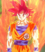 SSG Goku DBZ La Batalla de los Dioses