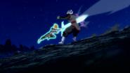 SuperTrunks Hikari Sword Genkidama 7
