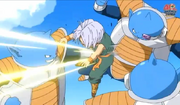 Ado punched trunks in the stomach