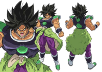 Broly adulte (Artwork complet)