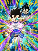 Dokkan Battle Pure Saiyan Tarble (Brotherhood Galick Gun) card
