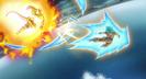 Frieza pounds Goku