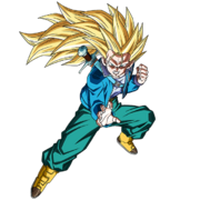 Trunks du Futur (Super Saiyan 3) (Artwork)