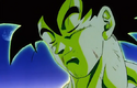 Celebrations with Majin Buu - Goku healed