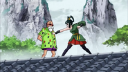 DBS ep89 Yurin contra Roshi