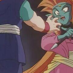 Mamba con Goku Jr.