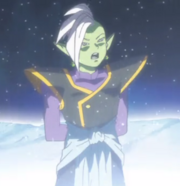 Zamasu wish to Superron