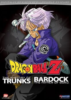 DRAGON BALL Z DB FEATURE MOVIE SPECIAL BARDOCK - TRUNKS COVER