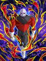 Dokkan Battle Grey Warrior Jiren card