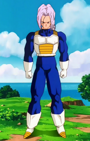 FTrunks uniforme saiyan