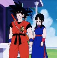 Goku y chichi 2