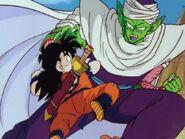 Piccolo y Gohan entrenando