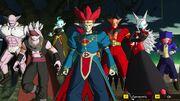 SDBH World Mission Ch1 Side Story - Note's Adventure Demon Gods of the Dark Empire (Demigra, Dabura, Towa, Putine, Gravy, Salsa, & Shroom)