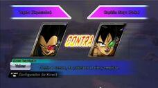 Vegeta vs Ginyu-Goku (kinect)