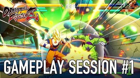 Dragon Ball FighterZ - XB1 PS4 PC - Gameplay session 1