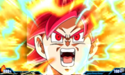 Extreme Butoden SSJG Goku Final Ultimate Combo