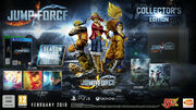 Jump-force collector en
