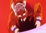 Nam usando el Ataque X en Goku