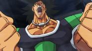 Broly Super furioso