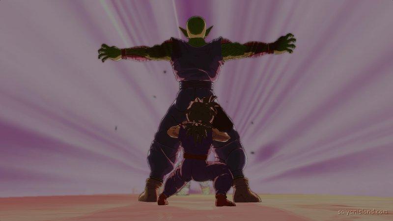 DBXV Gohan Piccolo VS Nappa Epic Sacrifice Piccolos Wall Of Defense Return The Saiyans Saga 1212 03