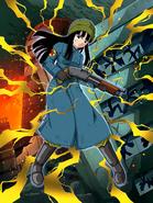 Dokkan Battle Fighting Eradication Mai (Future) card