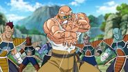 Master Roshi about to fire Kamehameha at Frieza soldiers in Dragon-Ball-Super-episode-21-6