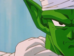 Piccolo llega a la pelea