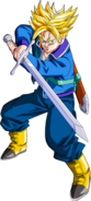 Render Dragon Ball Z Trunks Do Future by zat renders