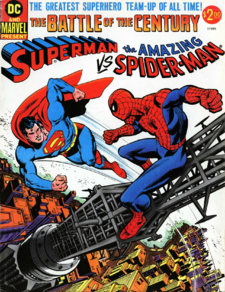 Superman vs. The Amazing Spider-Man The Battle of the Century referencia