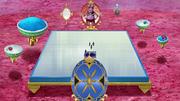 Torneio arena e assentos
