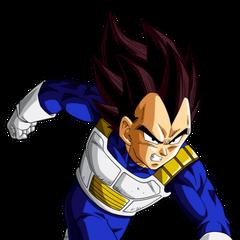 Vegeta in Dragon Ball Z, Saga degli Androidi.