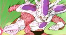 Bala de rayo mortal al máximo-Freezer tercera forma vs Piccolo