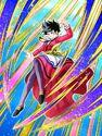Dokkan Battle Indomitable Breakthrough Videl card (Story Event Defeat the Legendary Super Saiyan - Natade Village Dress Videl UR)