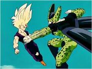 Gohan Super Saiyan 2 vs Cell Perfecto333433