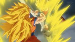Goku SSJ3 is fingers