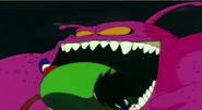 Goku apunto de ser comido