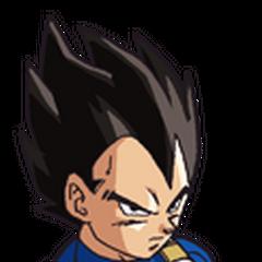 Vegeta in Dragon Ball Z.