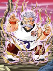 Dokkan Battle Martial Artist's Belief Mutaito card (Master Mutaito SR-SSR)