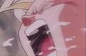 Gohan coughs up spit