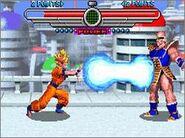 Taiketsu Goku VS Nappa