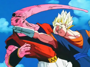 Vegeku vs Super Majin Bu