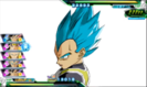 Vegeta (Whis Gi) turns Super Saiyan Blue