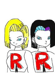 Android17james18jessie