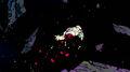 Frieza floats half dead through space
