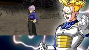 Future Trunks opening Another Road