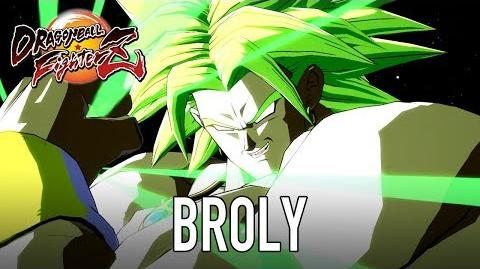Dragon Ball FighterZ - XB1 PS4 PC - Broly (Full character Intro)