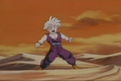 Gohan about to be attacked