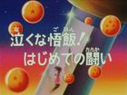 Il primo combattimento di Gohan Title-Card JP