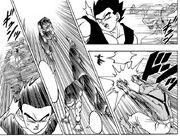 Lavenda contro Gohan - manga