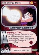 Red energy blast gohan